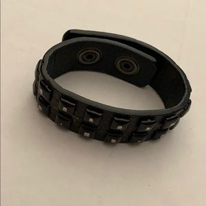 Guess Leather Band Bracelet